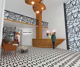 MAHAL MİMARLIK / MAHAL ARCHITECTS – SAMİR OTEL CEPHE VE İÇ MEKAN YENİLEME PROJESİ: modern tarz Yatak Odası