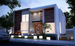 Projekty, minimalistyczne Domy zaprojektowane przez ALONSO ARQUITECTOS