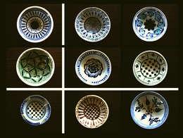 203 Çini ve Seramik Atölyesi – Milet Desenli Tabakların Enstalasyonu:  tarz İç Dekorasyon
