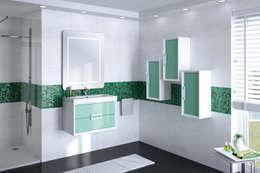 modern Bathroom by Visobath