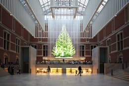 Tree of light for Rijksmuseum:  Musea door Studio Droog