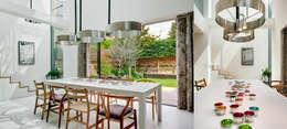 Salle à manger de style de style Moderne par Dos Architects