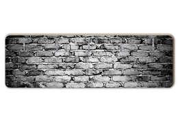 Garderobe Mauer 04: ausgefallener Flur, Diele & Treppenhaus von K&L Wall Art
