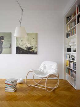 Projekty,  Salon zaprojektowane przez TON