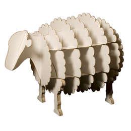 Meuble mouton en carton recyclé: Chambre d'enfants de style  par contact317