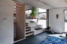 modern Living room by groenesteijn  architecten