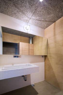 川添純一郎建築設計事務所의  화장실