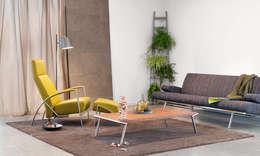 Harvink moderne design bank Armslag : moderne Woonkamer door Harvink