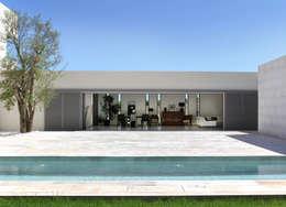 Intérieur / extérieur: Maisons de style de style Minimaliste par Hamerman Rouby Architectes