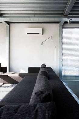 minimalistische Woonkamer door homify