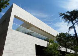 Façade sud: Maisons de style  par Hamerman Rouby Architectes