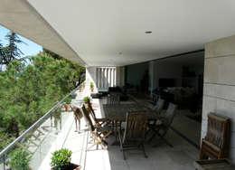 Terrace by Hamerman Rouby Architectes