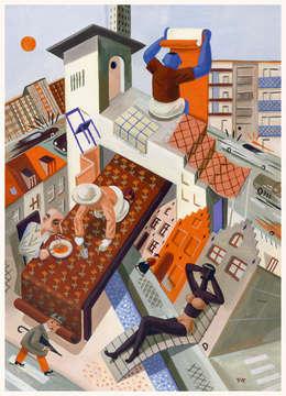 Inside is out:  Kunst  door Pieter Van Eenoge