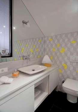 HANDE KOKSAL INTERIORS – House E - E Evi: modern tarz Banyo