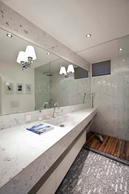 HANDE KOKSAL INTERIORS – House S - S Evi: endüstriyel tarz tarz Banyo