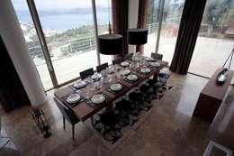 HANDE KOKSAL INTERIORS – House C3 - C3 Evi: modern tarz Yemek Odası