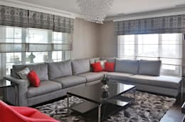 Aykuthall Architectural Interiors – KANEPE: modern tarz Oturma Odası