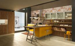 Projekty,  Kuchnia zaprojektowane przez Graphosds