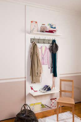 taPETI Garderobe:  Wände & Boden von taPETI