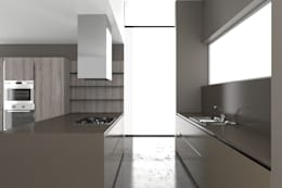 modern Kitchen تنفيذ Graphosds