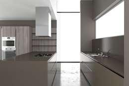 modern Kitchen by Graphosds