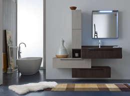 Salle de bain de style de style Moderne par Graphosds