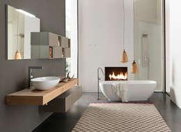 modern Bathroom by Graphosds