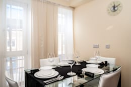 modern Dining room by Lujansphotography