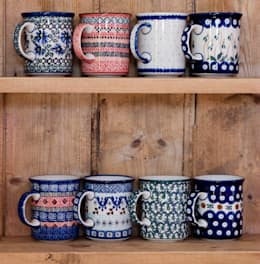Cocina de estilo  por Blue Dot Pottery Ltd