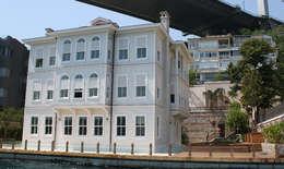 Öztek Mimarlık Restorasyon İnşaat Mühendislik – Rumelihisarı Yalı Restorasyonu: klasik tarz tarz Evler