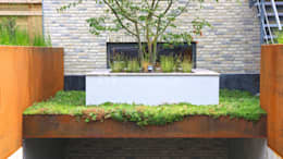 Villatuin Rotterdam: moderne Tuin door ERIK VAN GELDER | Devoted to Garden Design
