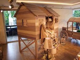 Lacote Design – LACOTE Çiftlik temalı  bebek ve çocuk odası : modern tarz Çocuk Odası
