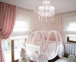 Lacote Design – Lacote prenses  çocuk ve bebek odası tasarımları: modern tarz Çocuk Odası