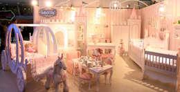 Lacote Design – Lacote prenses bebek  odası: modern tarz Çocuk Odası