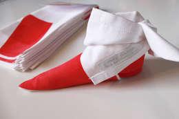 Origamiserviette Nikolausstiefel: ausgefallene Esszimmer von moij design