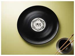 Longplate - Porcelane plate 28 cm: Cucina in stile in stile Eclettico di Mamado srl
