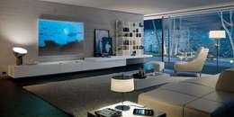 Projekty,  Salon zaprojektowane przez TURATI T4