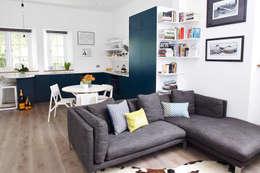 modern Living room by Cassidy Hughes Interior Design