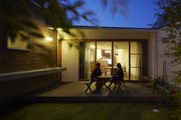 Jardines de estilo moderno por 一級建築士事務所ROOTE