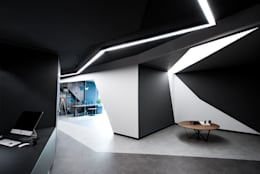 SALON ARCHITECTS – CTHB Law Office:  tarz Ofis Alanları