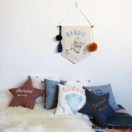ambiance Wild West avec Mister Bandit: Chambre d'enfants de style  par Mister Bandit