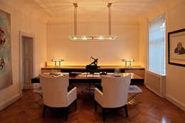 Livings de estilo ecléctico por Art Deco Schneider