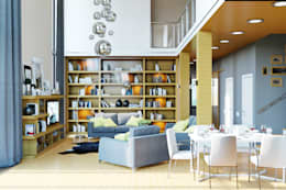 Студия дизайна Interior Design IDEAS의  거실