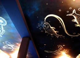 Zodiaque: Salle multimédia de style  par Zuritagordian
