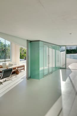 Jellyfish House: moderne Woonkamer door Wiel Arets Architects