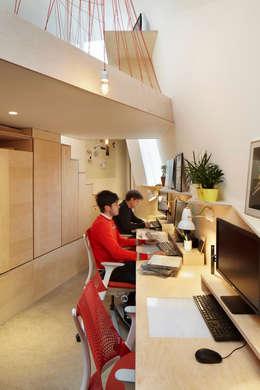 Fraher Architects Ltd의  서재 & 사무실