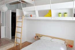 臥室 by Miel Arquitectos