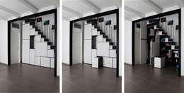 Salas / recibidores de estilo moderno por ellevuelle  architetti