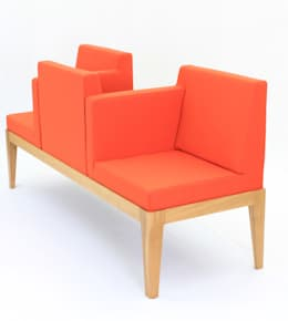 Banda Wood Lounge:  Esszimmer von xchange design GmbH