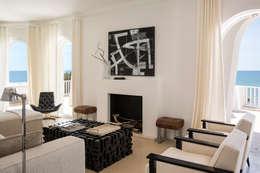 Salas / recibidores de estilo moderno por Stefano Dorata